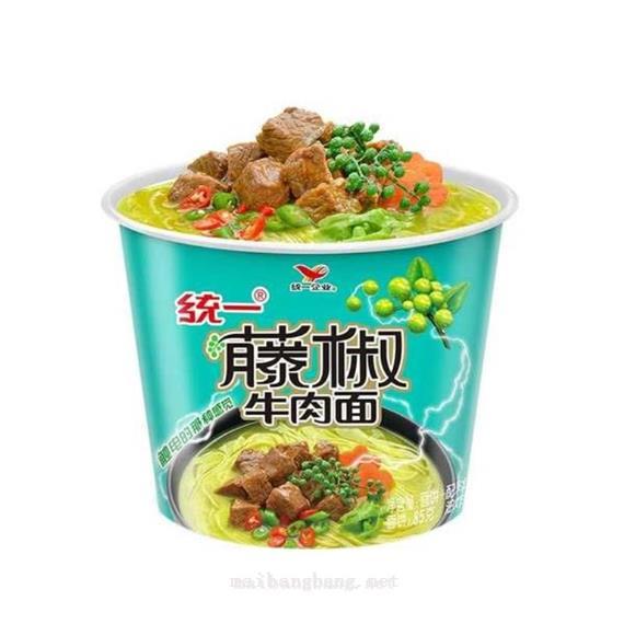方便面/粉统一藤椒牛肉面105g105g